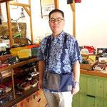 (オーダー)帆布×革のショルダーバッグ愛知県稲沢市H様Waioli14053-2