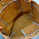 帆布トートバック(中)お千代保稲荷手作り革工房Waioli1305-2