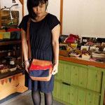 (オーダー)帆布×革のショルダーバッグ岐阜県神戸町RさんWaioli14058-2