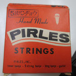 古いPIRLES Banjo Strings  飯田楽器
