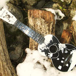 Greco U-BJ  Black Jack plastic ukulele