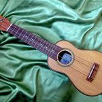 Akulele (TODARO) Made In Bolivia チャランゴ風 木彫りウクレレ