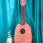 Koni Koni Pineapple Ukulele PINK  Big Boss By ESP
