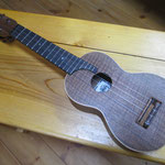 岩崎Ukulele Black Walnut Soprano Martin Type(YANO Model)