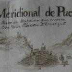 La parroquia en el mapa del Interrogatorio de Lorenzana (1788).
