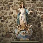Asunción de Ntra. Sra. tras altar