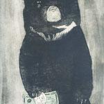 二頭の熊 Two Bears