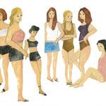 girls (summer)