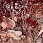 「荊少女」荊に侵され深い深い微睡みの中、少女はどんな夢を見る?