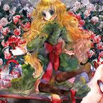 『薔薇が塗り終わらないの。』私はいつまでもいつまでも、まよなかの世界を彷徨うアリス。