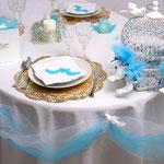 table de mariage pour magazine féminin