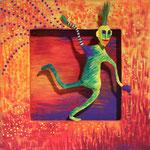 grain de folie - 2009-20 x 20 cm