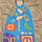 Un roi à la manière de Gustav Klimt