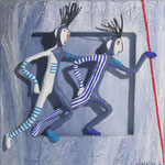 Les Eclaireurs-2012- 20 x 20 cm (coll. part.)