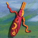 Le chant des steppes - 2010 10 x10 cm