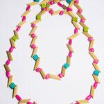 Joli collier de nouilles
