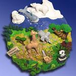"""Hors série Wapiti """"Planète Terre : les animaux en dangert"""""""