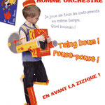 L'homme orchestre pour Petites Mains