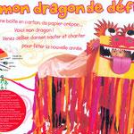Dragon chinois pour Milan presse
