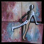 Au delà du Silence - 2008- 20 x 20 cm
