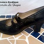Flamenco-Tanzschuh (Herst.: B. Cervera / Modell: BARROCO in Glattleder)