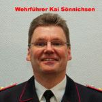 Wehrführer Kai Sönnichsen