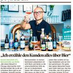 vvirtuelles Biertasting und live Bierverkostung - biersommelier.berlin - Biersommelier Karsten Morschett - Bild am Sonntag