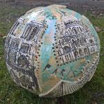 35 cm Durchmesser Motive aus Paris