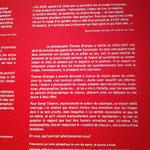 """Thème détaillé de l'exposition """"Vis-à-vies"""" - photographies de Thomas Bilanges"""