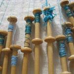 Porot/Fuseaux en bois