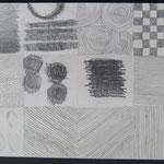 "Übung zum Thema ""Struktur-Textur"", 5Cn, 2015"
