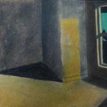 leerer Raum nach E. Hopper
