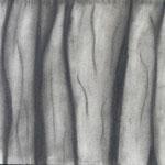 Faltenwurf, Kohle auf Papier, 5Cn 2015/16