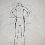 Körperstudie 1,  Birgit Rieder, 7Bb 2014/15