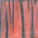 Faltenwurf, Pastellkreide auf Papier, 5Cn 2015/16
