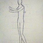 Körperstudie 2,  Birgit Rieder, 7Bb 2014/15