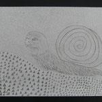Mit Strukturen und Texturen spielen, Bleistift, 2015, 5Cn