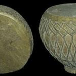 Ces instruments de musique à percussion du XIXème s ap J.C. sont identiques à ceux utilsés par les timourides dont ils sont les héritiers. Musée d'archéologie et des Beaux-Arts de Samarcande (photo : C.Ollagnier, 2008)