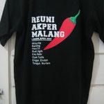 ロンボク島のTシャツ riuni kakk ita