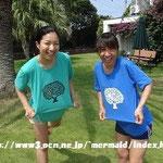 ロンボク島のTシャツ mermaid
