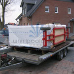outdoor whirlpool Modell Columba