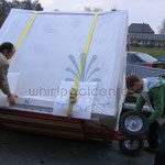 outdoor whirlpool transport