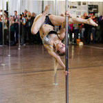 Martina Bucher - Show at the Pole Acrobatics Center