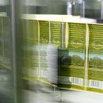 Etiketten für die Olivenölflaschen