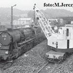 """Nawęglanie ty2-38, 20.06.1986  foto: M.Jerczyński, z """"Kronika MD J. Góra od roku 1982"""""""