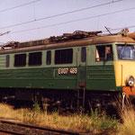 EU07-469 na punkcie kontrolnym w Jeleniej Górze w VI.1994, foto H. Magoń