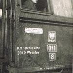 Maszynista R. Łabuda na Ot1-8, Ok. 1967, ze zb. R.Łabudy