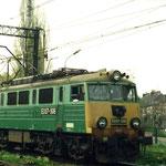 EU07-506 na stacji w Jeleniej Górze,1995, foto: H.Magoń
