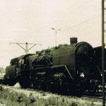 Parowóz Ot1–17 w ostatnim dniu stacjonowania w Jeleniej Górze ze zbioru Stanisława Brodziaka