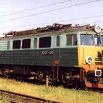 EU07-461 na punkcie kontrolnym w Jeleniej Górze w VI.1994, foto H. Magoń